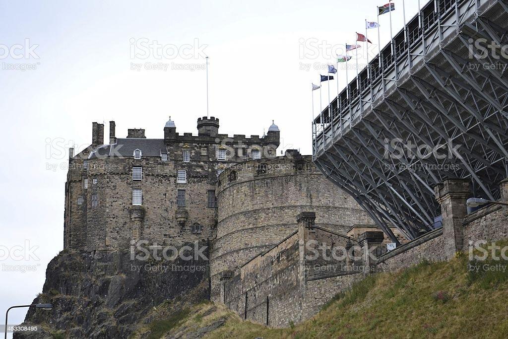 Edinburgh Castle, Scotland, UK stock photo