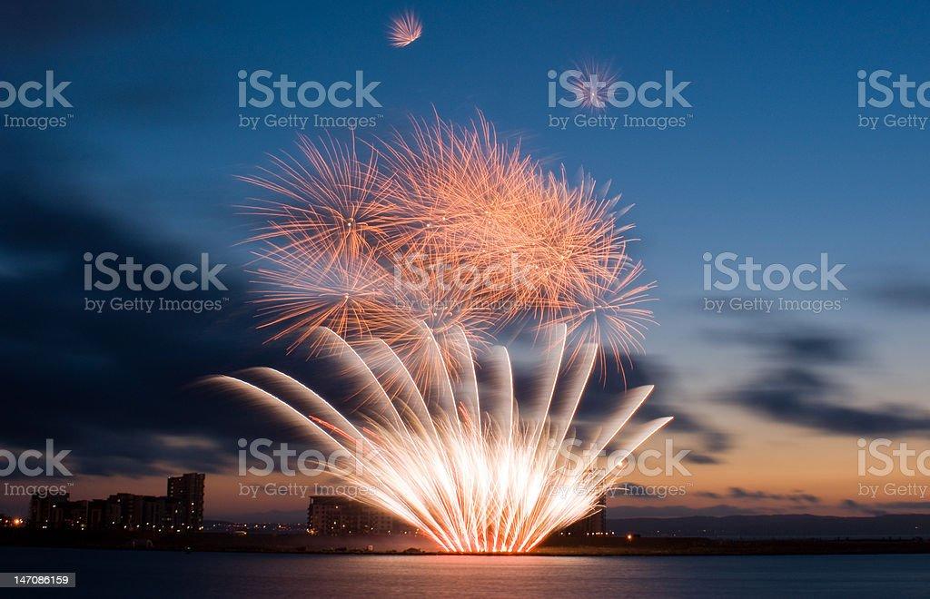 Edinburgh Fireworks Championship 01 royalty-free stock photo