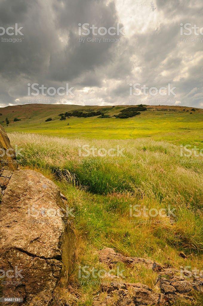 Edinburgh Landscape stock photo