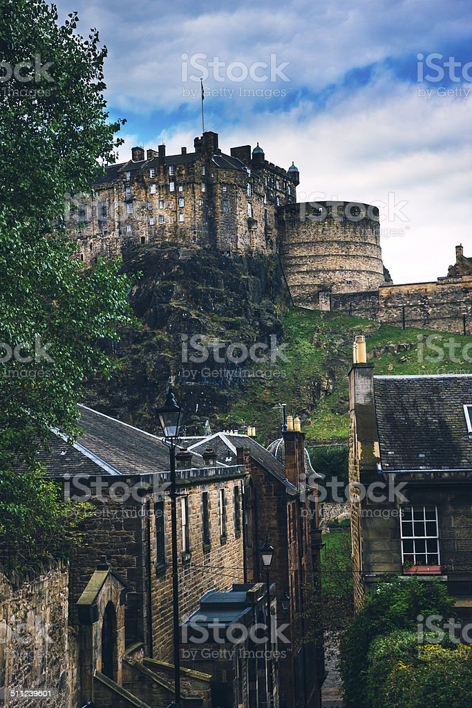 Edinburgh, Scotland, Old Town stock photo