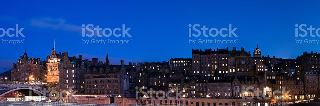 Edinburgh, Scottland stock photo