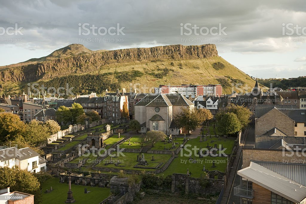 Edinburgh Viewpoint stock photo