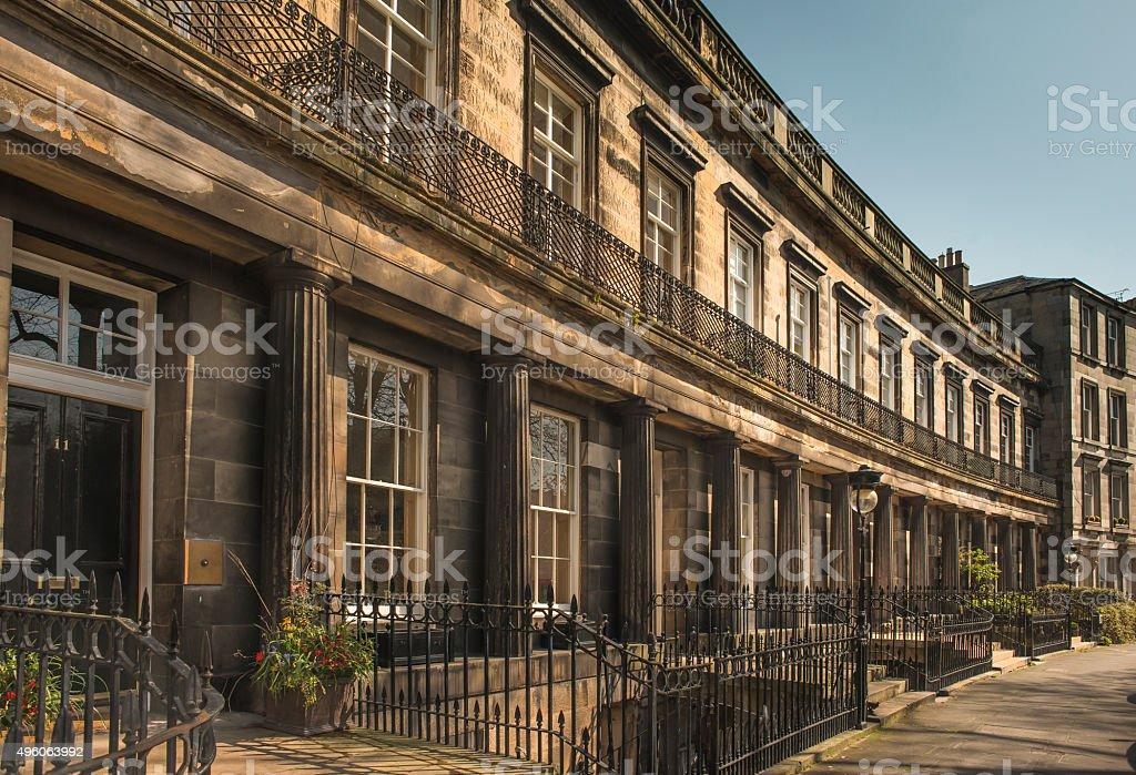 Edinburgh's New Town stock photo