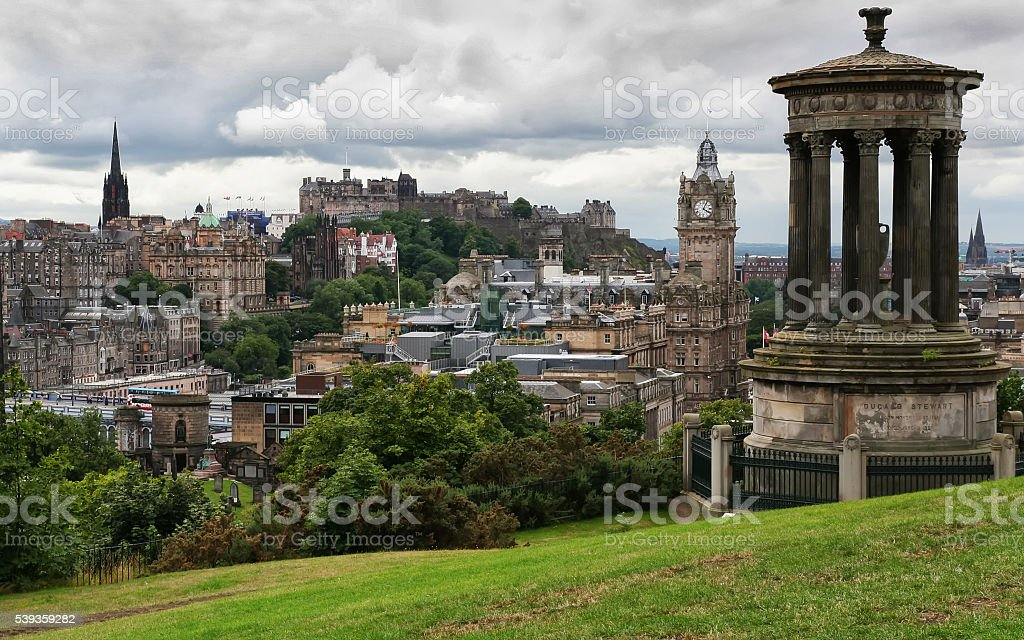 Edinburgo stock photo