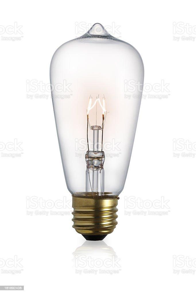 Edison Light Bulb royalty-free stock photo