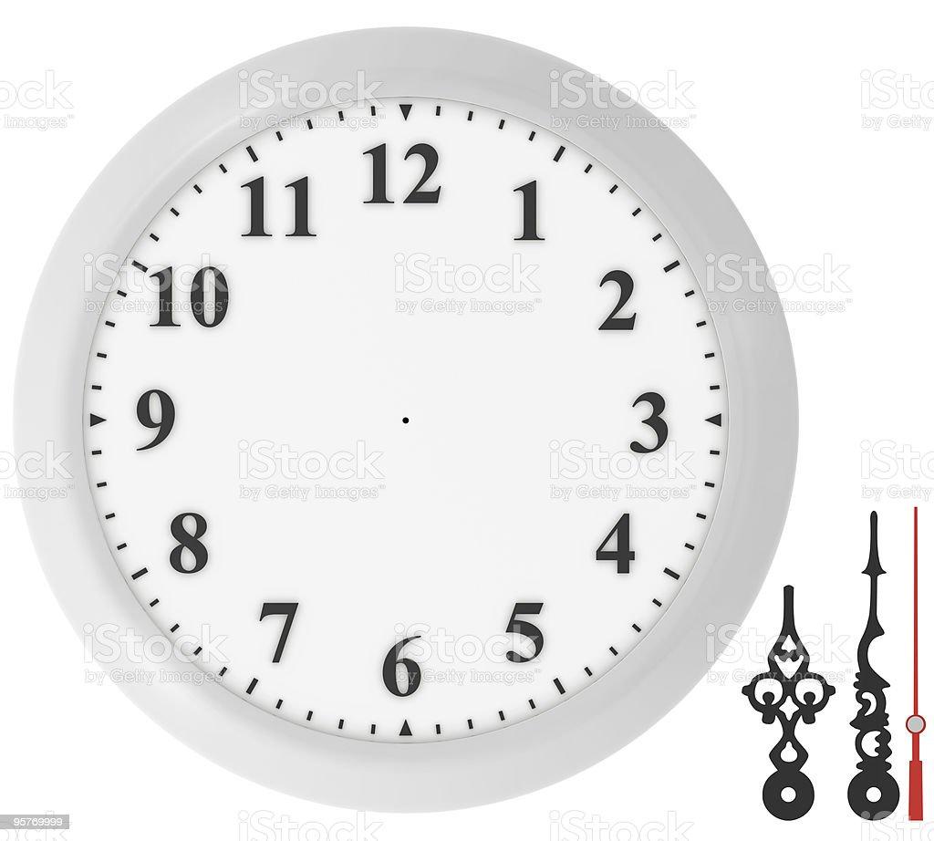 editable clock concept royalty-free stock photo