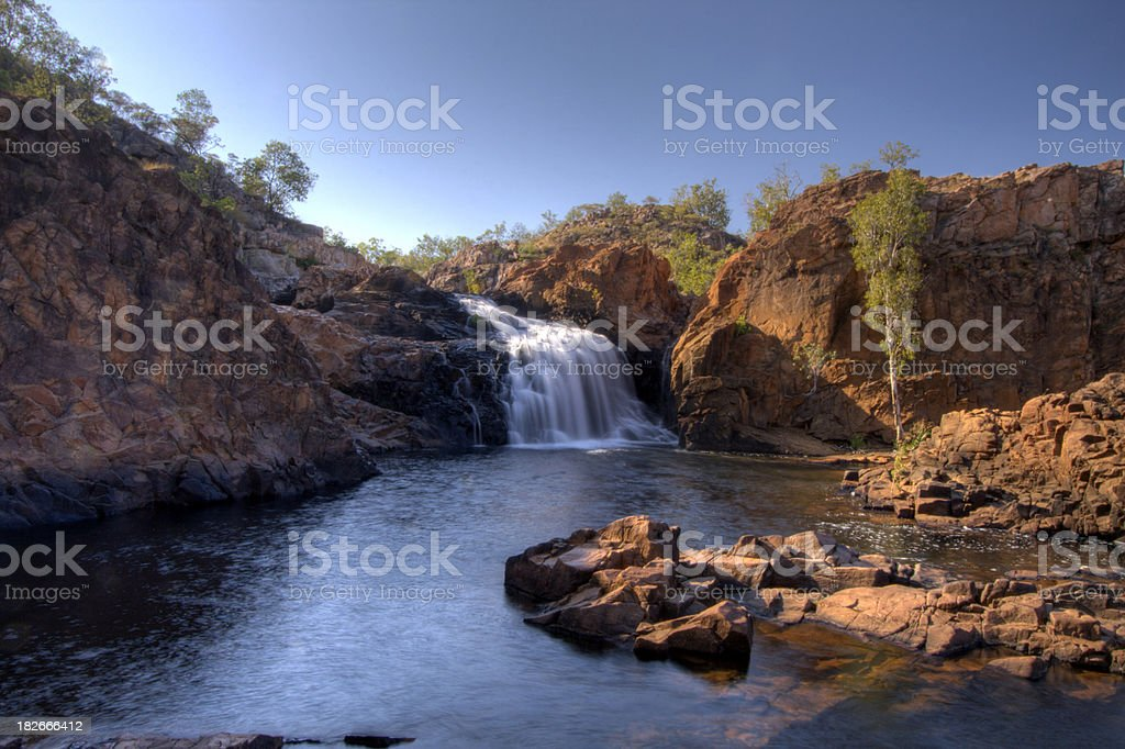 Edith Falls royalty-free stock photo