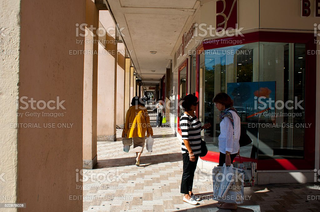Editorial Travel images from Ajaccio stock photo
