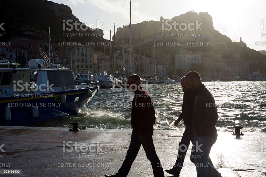 Editorial Travel images from Bonifacio stock photo