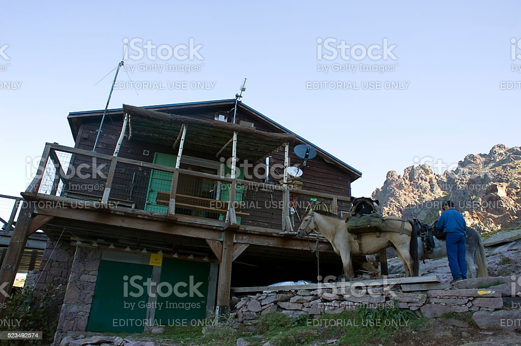 Editorial Travel images from Calenzana stock photo