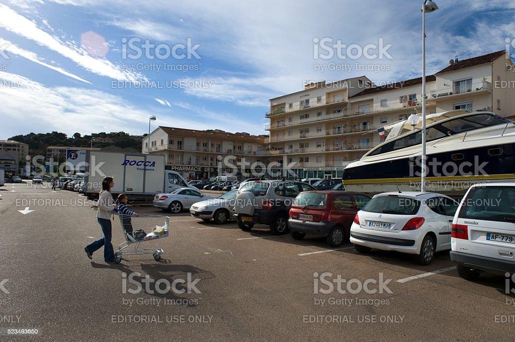 Editorial Travel images from Porto-Vecchio stock photo
