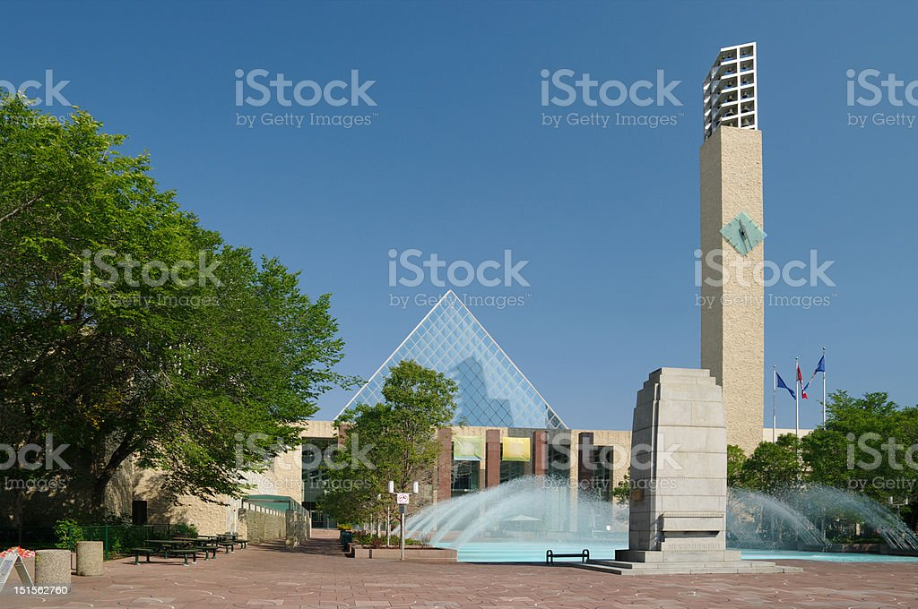 Edmonton City Hall stock photo