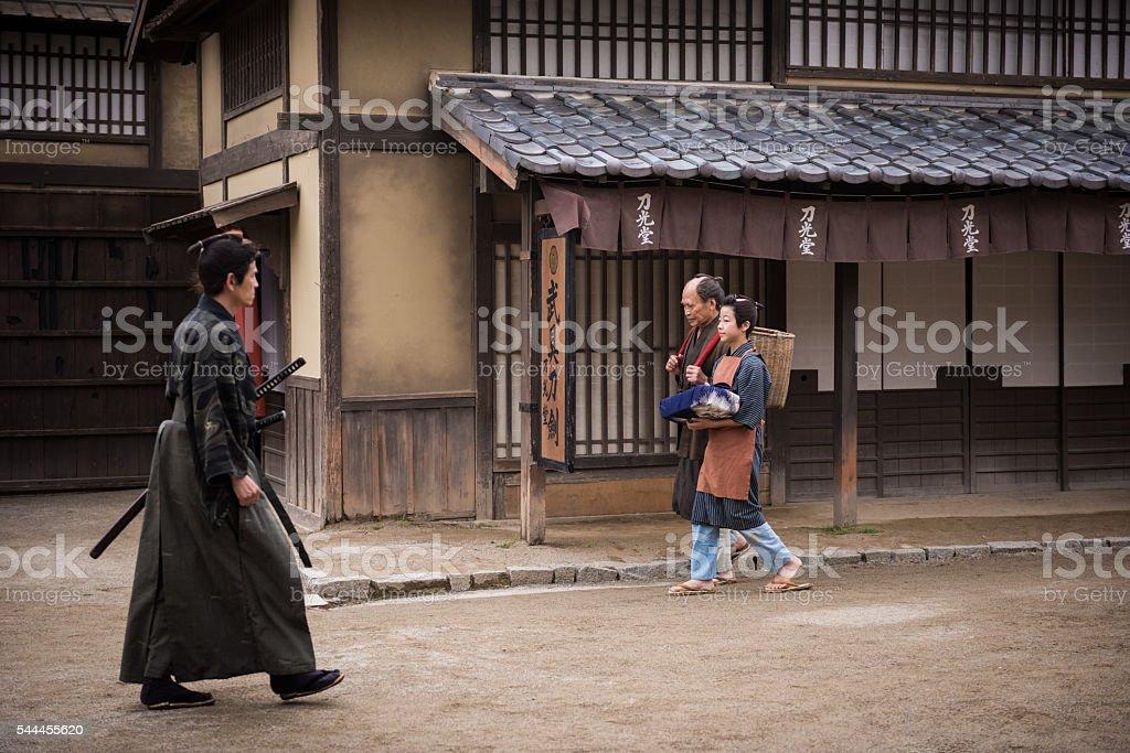 Edo Period Japan stock photo