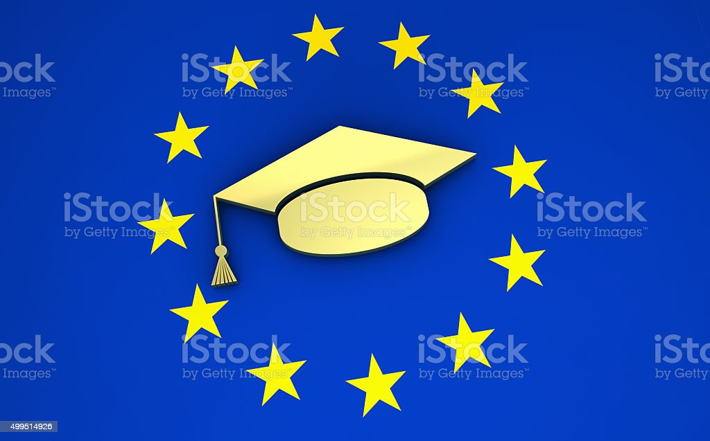 Education And School System In Europe stock photo