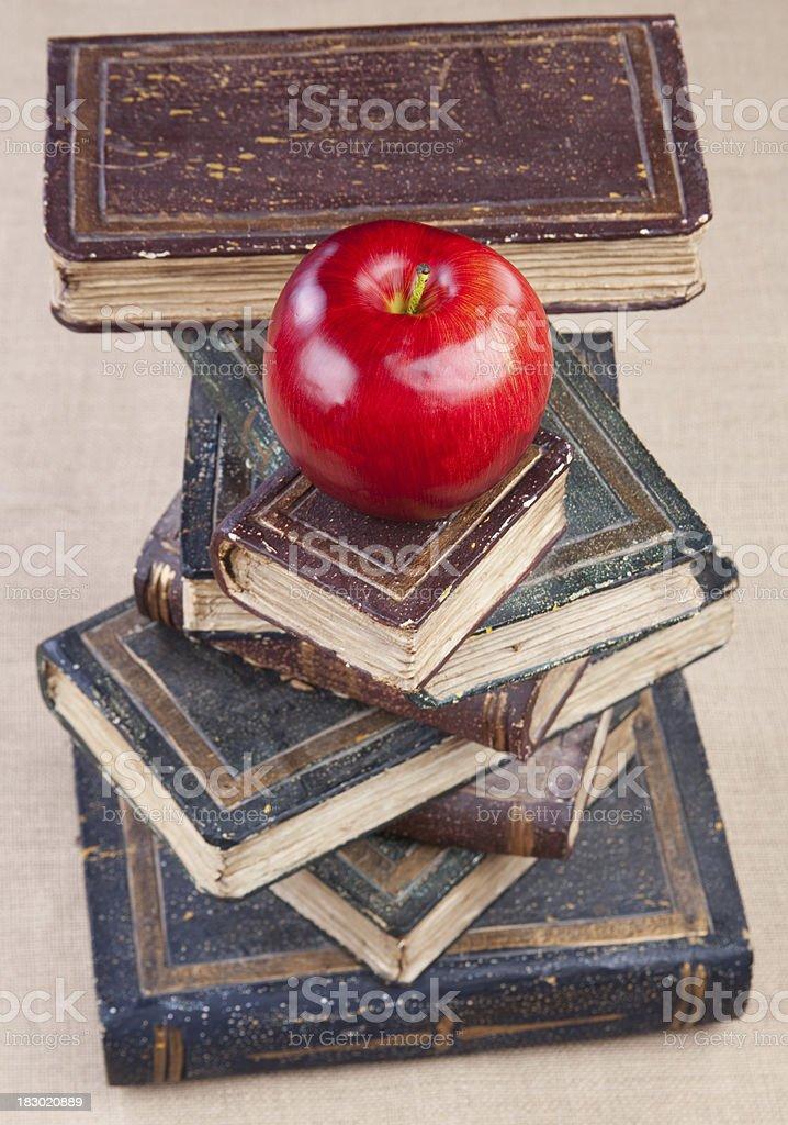Education Apple Books royalty-free stock photo