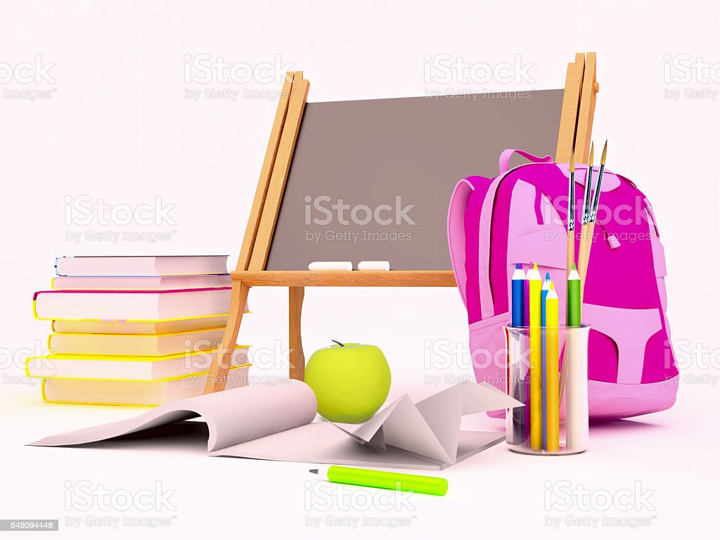 Education background concept. stock photo