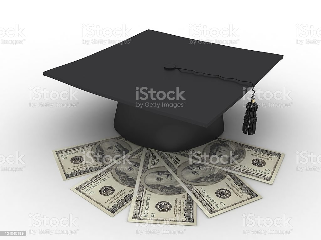 Education Costs royalty-free stock photo