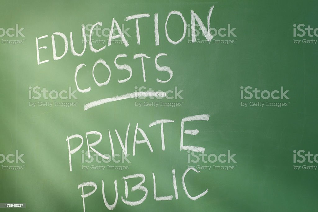 Education Costs stock photo