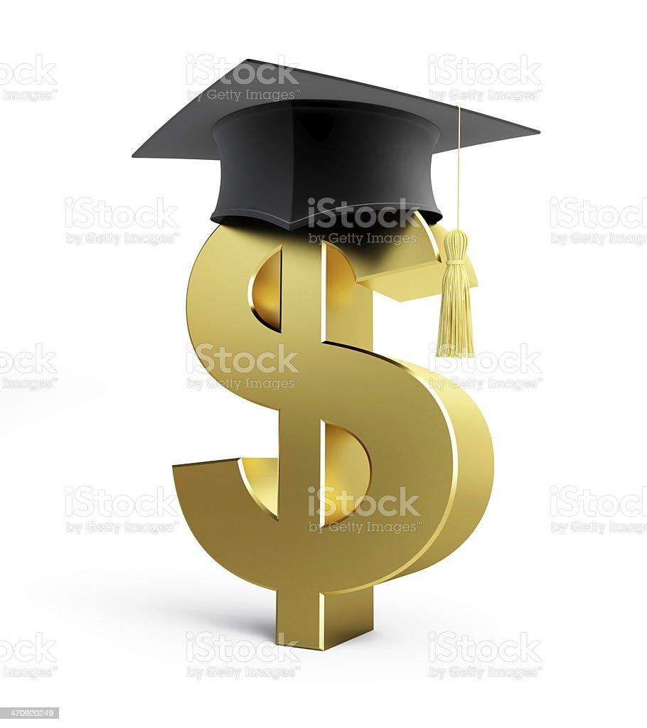 Education dollar Business School stock photo