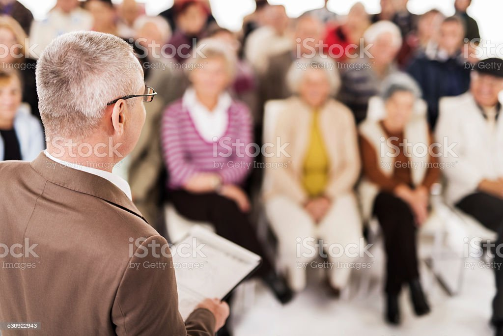 Education event. stock photo