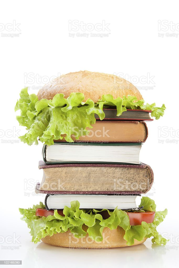 Education fast food royalty-free stock photo