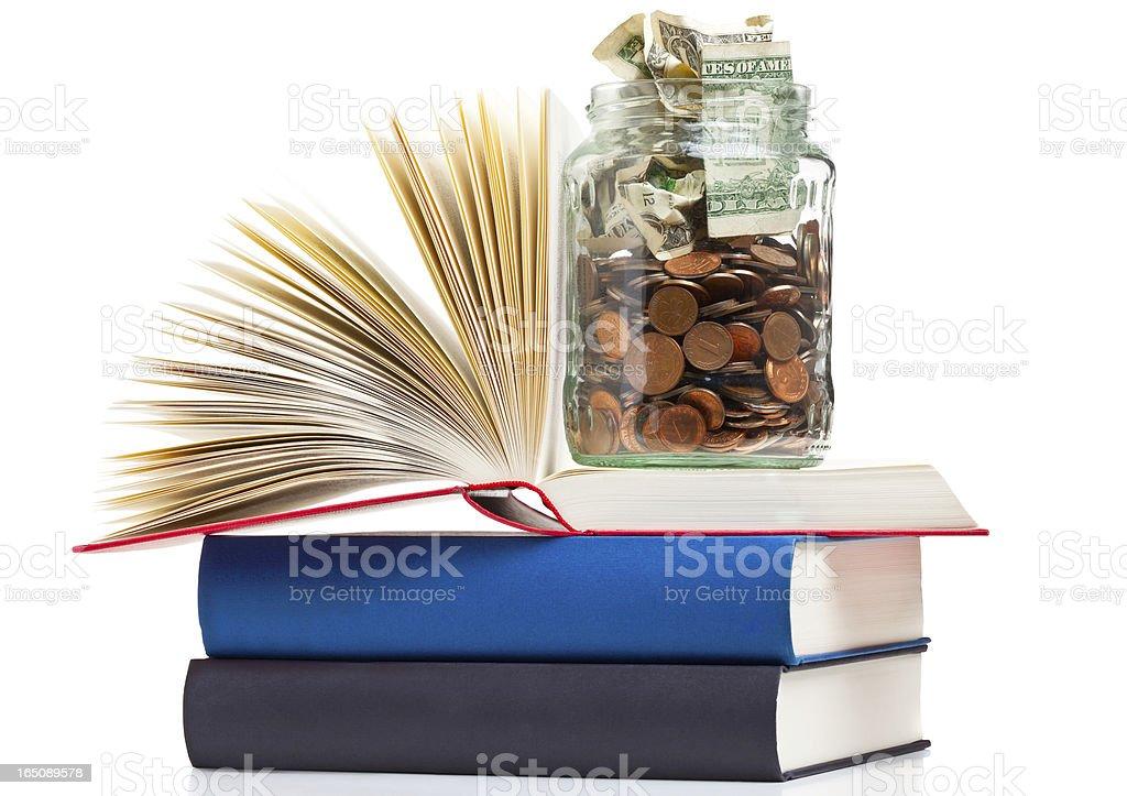 Education financing royalty-free stock photo