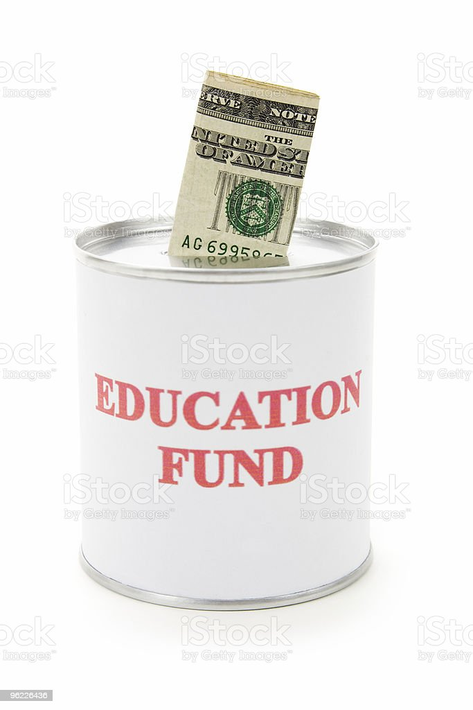 Education fund royalty-free stock photo
