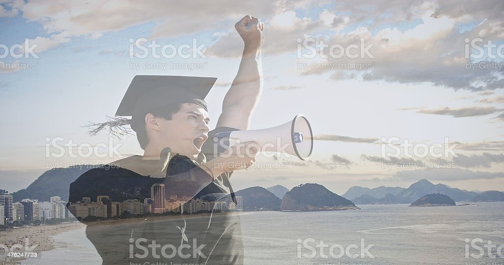 Education in Brazil royalty-free stock photo