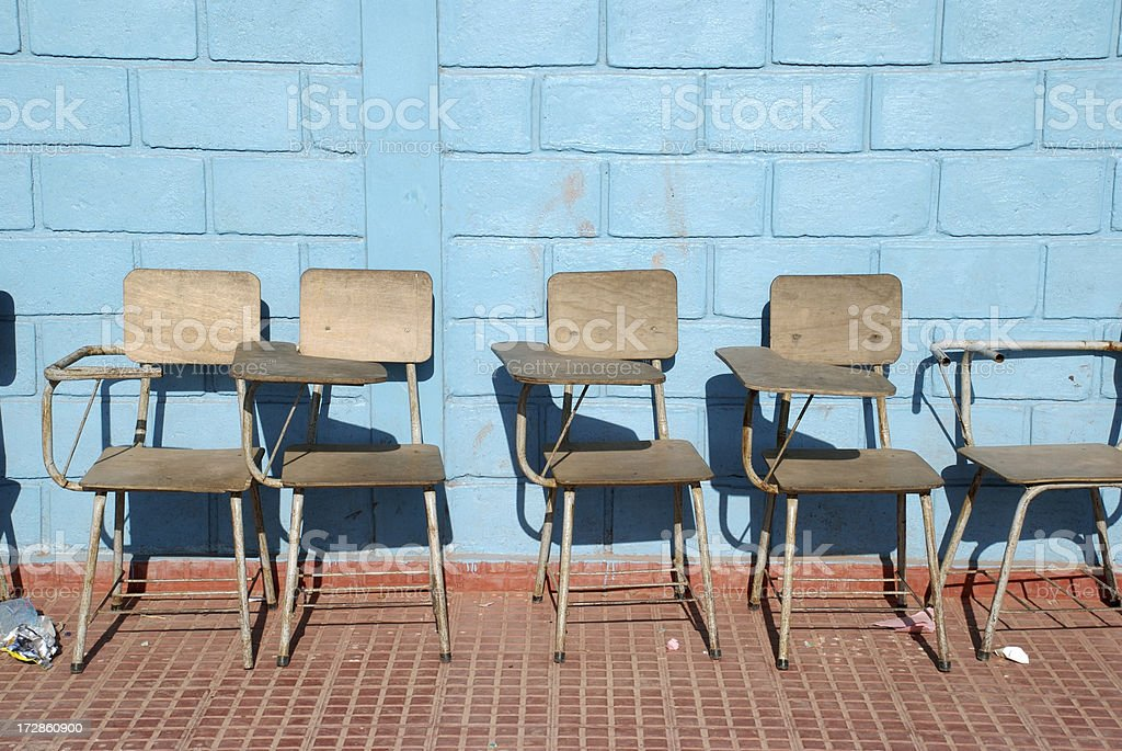 Education in Impoverished Country royalty-free stock photo