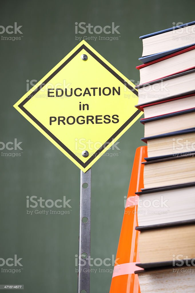 Education in Progress royalty-free stock photo
