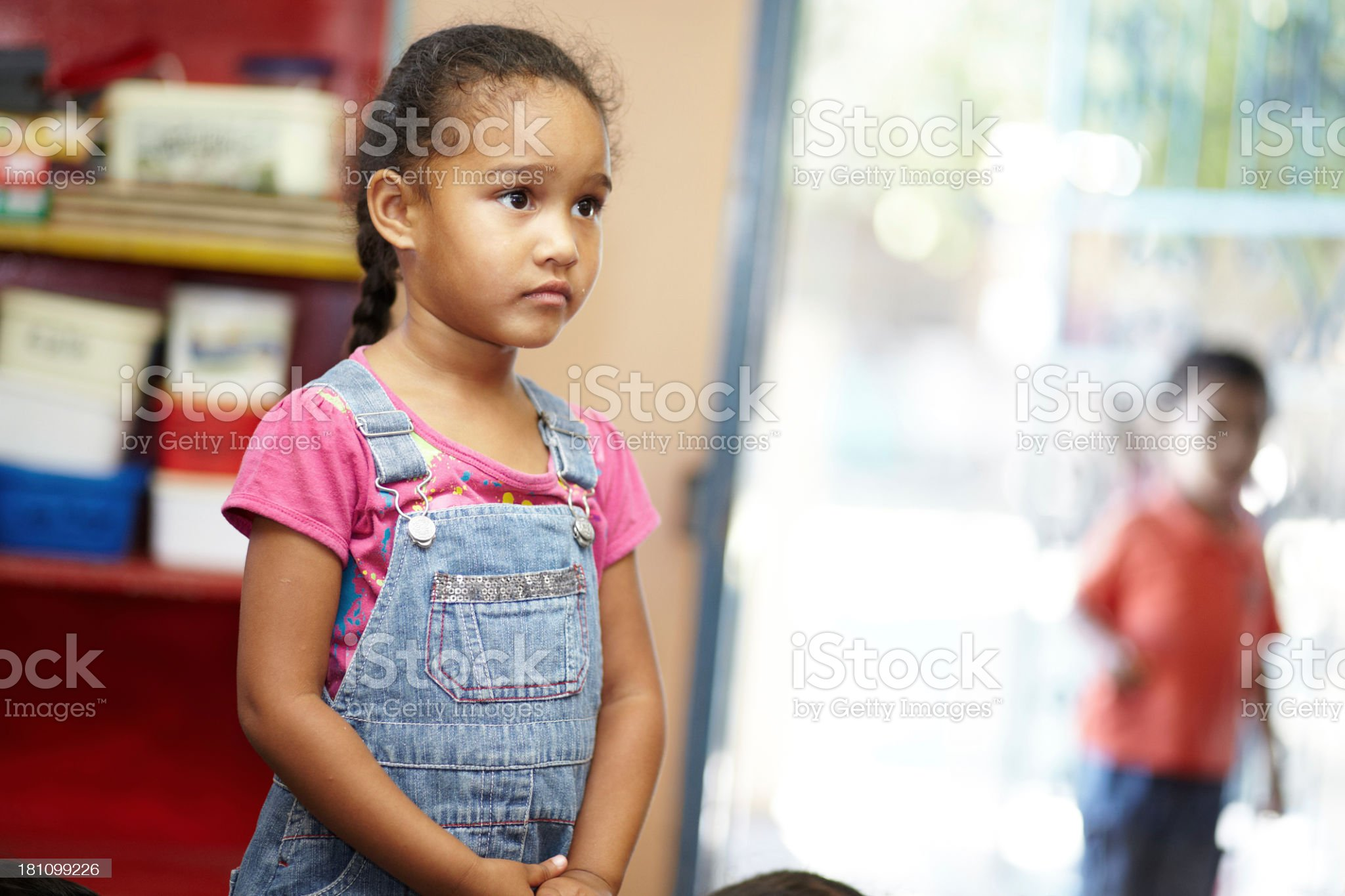 Education is the key to a better future for her royalty-free stock photo