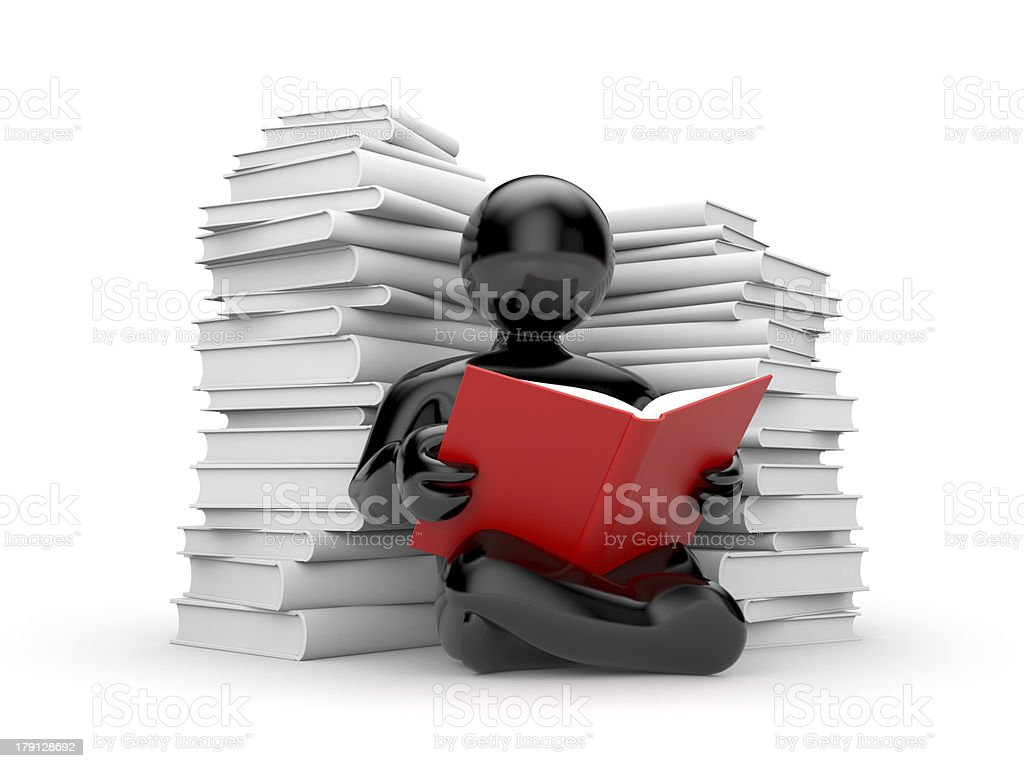 Education metaphor royalty-free stock photo