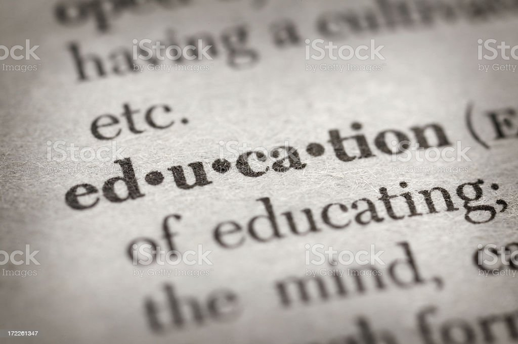 Education royalty-free stock photo