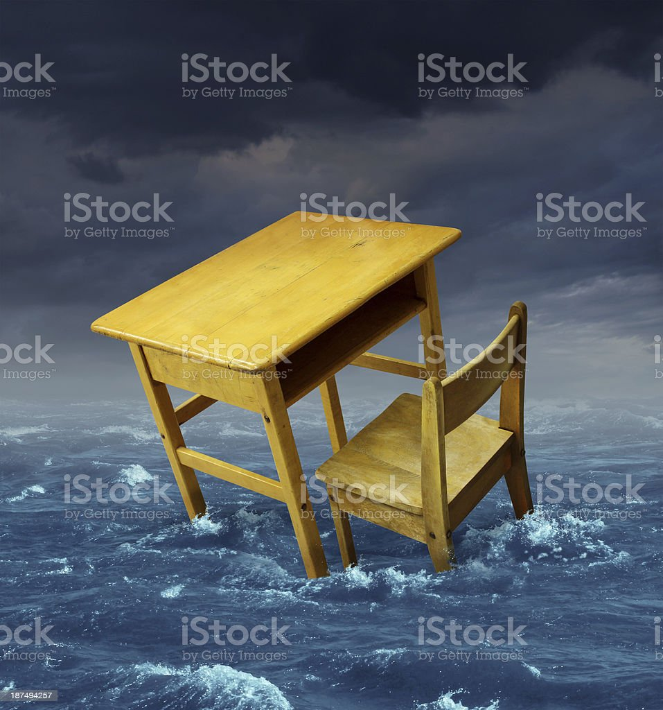 Education Problems royalty-free stock photo