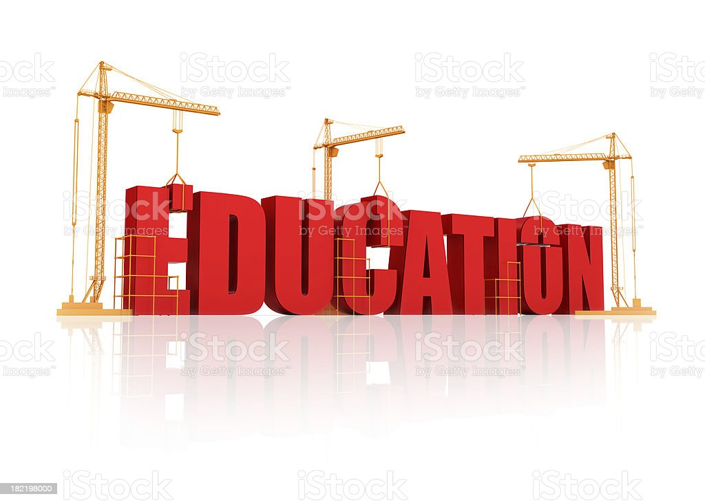 Education process royalty-free stock photo
