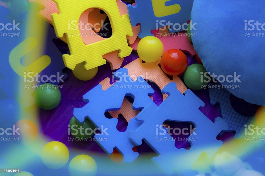 Education puzzle royalty-free stock photo