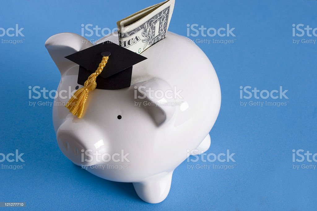 Education savings royalty-free stock photo