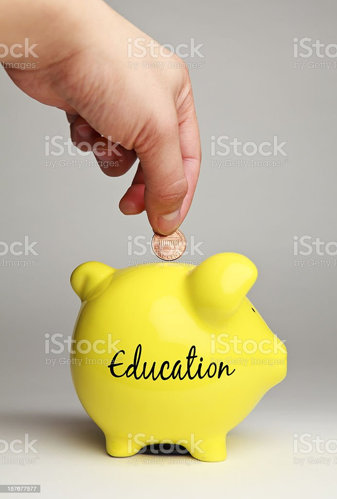 Education Savings royalty-free stock photo