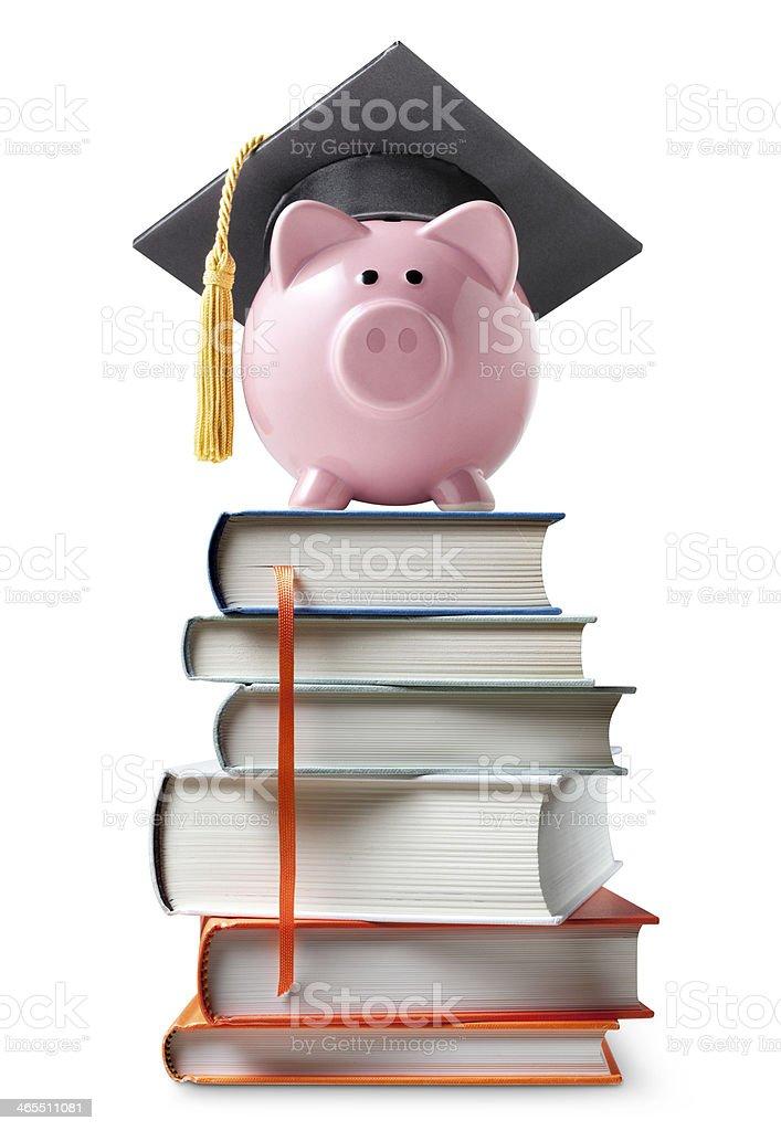 Education savings. stock photo