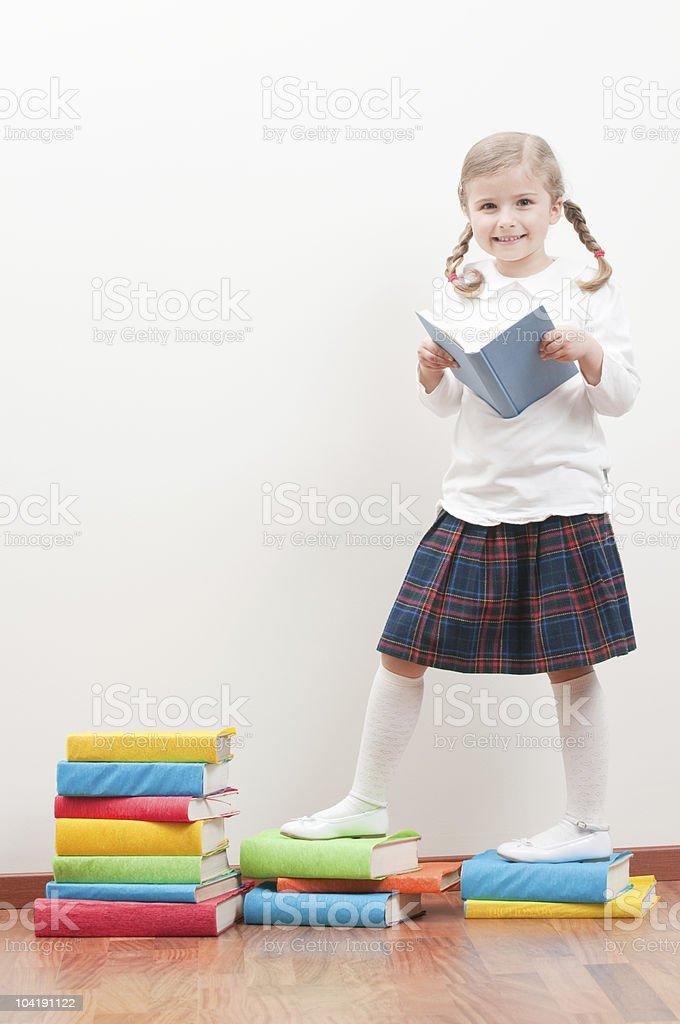Education steps royalty-free stock photo