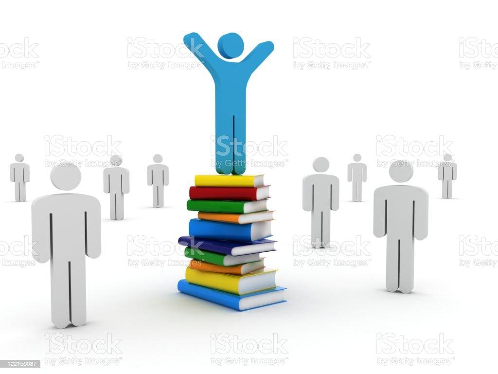 Education Success royalty-free stock photo