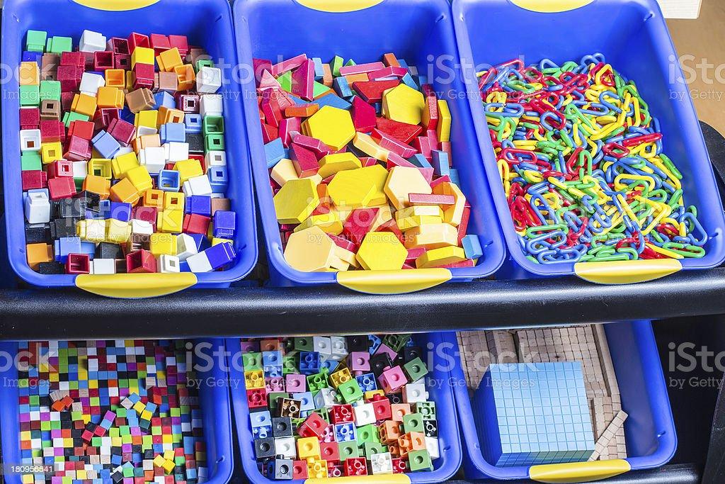 Educational Blocks royalty-free stock photo