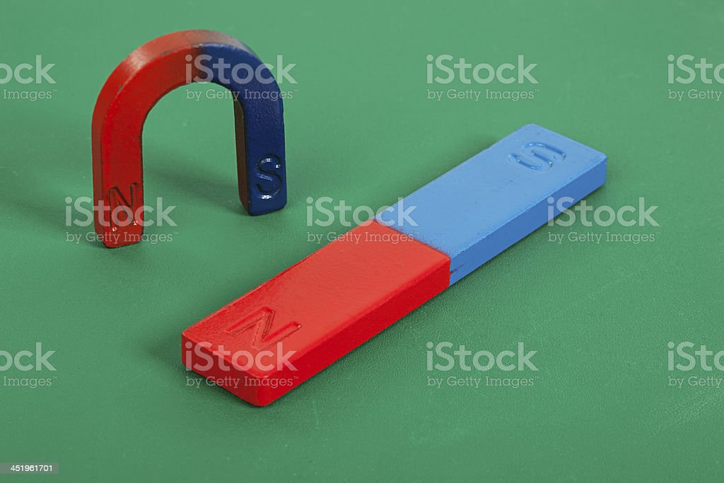 Educational magnets stock photo