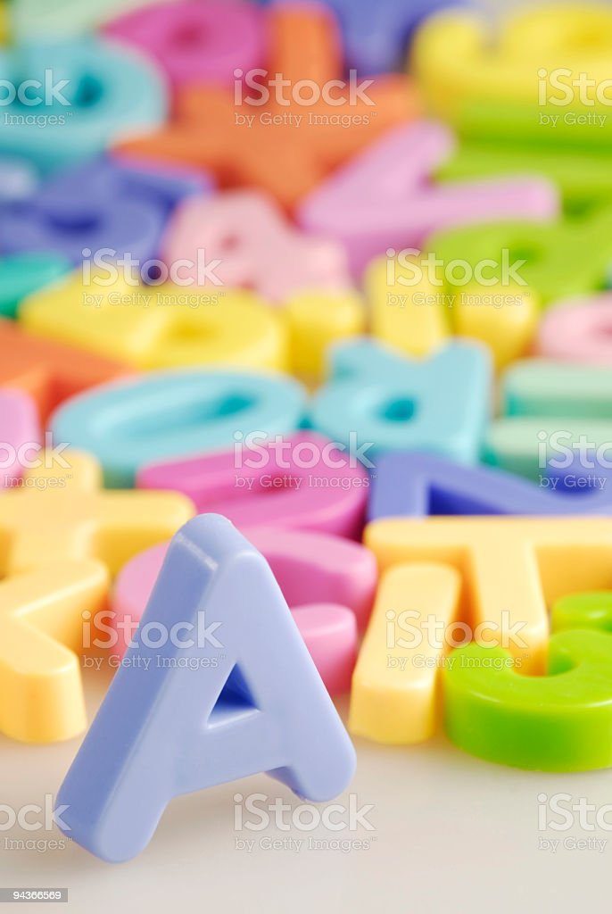 Educational Materials in a School royalty-free stock photo
