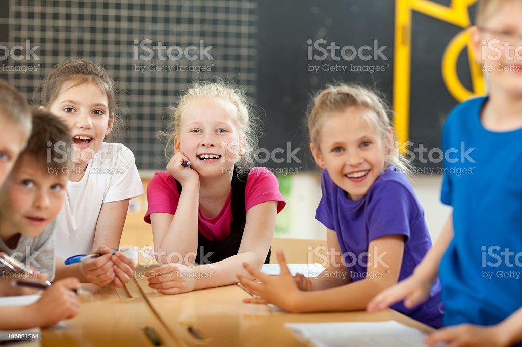 Educational process royalty-free stock photo