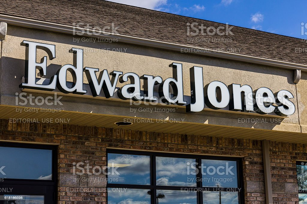 Edward Jones Consumer Investment and Financial Services Firm Location I stock photo