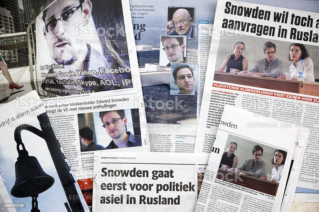 Edward Snowden # 1 XXXL stock photo