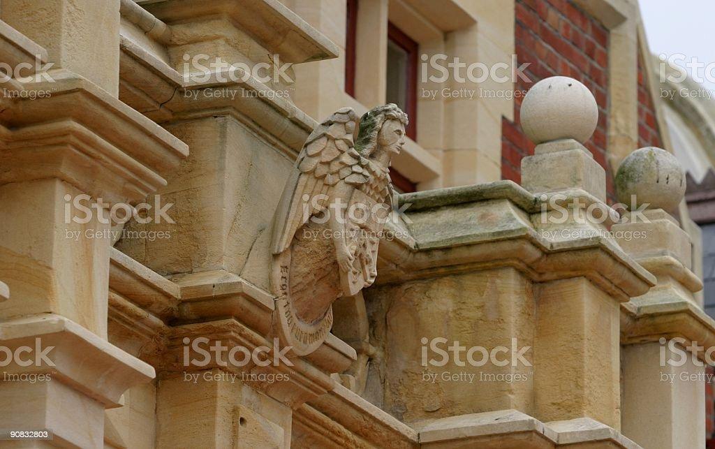 Edwardian Architecture details royalty-free stock photo