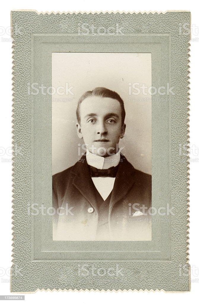 Edwardian Gent royalty-free stock photo