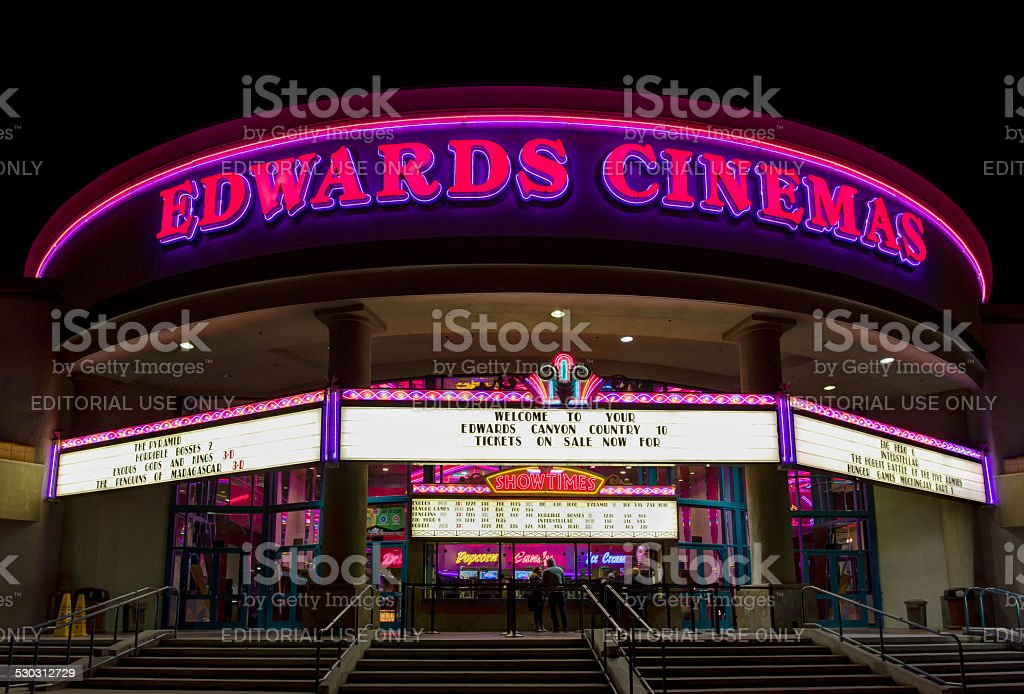Edwards Cinema Exterior stock photo
